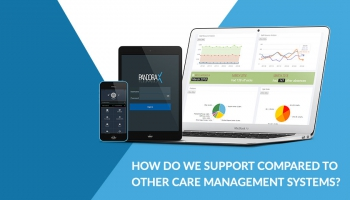 How do we support compared to other care management systems?