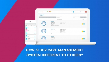 How is our care management system different to others?